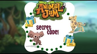 getlinkyoutube.com-Animal Jam: Secret Code!!