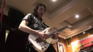 getlinkyoutube.com-STEVE VAI SESSION IBANEZ SOLO GUITAR  @ HARD ROCK CAFE PARIS BY ROCKNLIVE PROD