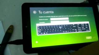 getlinkyoutube.com-Instalar Windows 10 en tablet vulcan journey