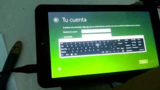 Instalar Windows 10 en tablet vulcan journey