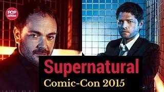 Comic-Con 2015: entrevistas com Misha Collins e Mark Sheppard de Supernatural