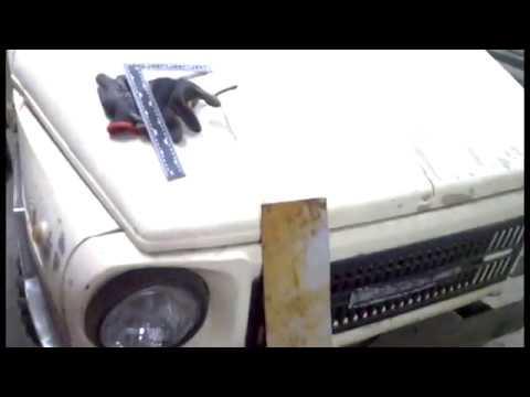Ремонт аккумуляторного ящика на луаз