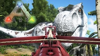 getlinkyoutube.com-CAZANDO SUPER DINOSAURIOS!! - ARK: Survival Evolved #12