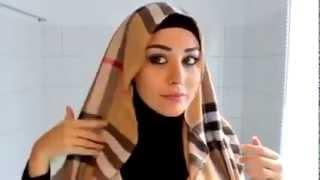 تعليم الحجاب الصحيح - فديو مهم للبنات