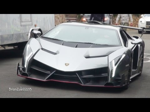 Lamborghini Veneno On The Road