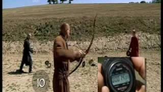 getlinkyoutube.com-Archery Rapid Fire Hun Archery Kassai