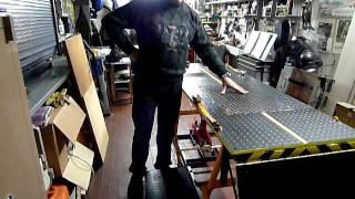 getlinkyoutube.com-Ponte sollevatore per moto di grossa cilindrata - lavoro finito