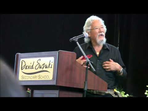 Dr. David Suzuki Addresses First Graduates of David Suzuki Secondary School - Ajantha Gnanamuttu