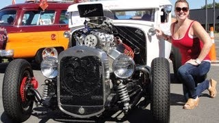 """getlinkyoutube.com-COUPEZILLA 1000+ HORSEPOWER HOT RAT ROD BLOWN NASTY COUPE WITH """"HOT BABE"""" CLASS TROPHIES  video 24"""