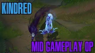 getlinkyoutube.com-League of Legends - KINDRED MID Gameplay - WHEPAA 18 Kills [PT-BR]
