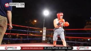 Marco Rueda v.s John Pappas Harrison Park Boxing Event Pilsen
