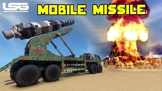 getlinkyoutube.com-Space Engineers - Mobile Missile Launchers