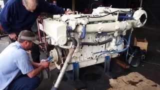 getlinkyoutube.com-Detroit Diesel 6-71 TIB    485HP  Marine Engine