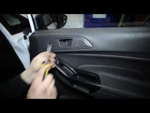 Ford Fiesta 2015 disassembly door (Ford Fiesta 2015 разборка дверей)