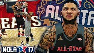 getlinkyoutube.com-NBA 2K17 MyCAREER LVP - 2017 All Star Game & Dunk Contest! Breaking Anthony Davis 52 Point Record!