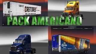 PACK AMERICANO|Camiones y Cargas mexicanas|Euro truck simulator 2