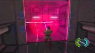getlinkyoutube.com-Star Wars Obi-Wan Defeating Darth Maul (XBOX)