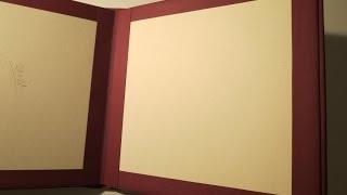 getlinkyoutube.com-Scrapbook Album DIY #1 * Buchbindung und Einband