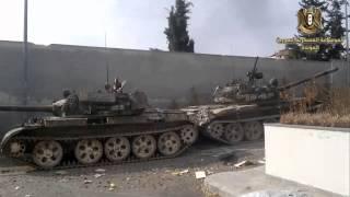 getlinkyoutube.com-الجيش العربي السوري عملية انقاذ دبابة T 55 في مرمة المسلحين