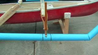 getlinkyoutube.com-Homemade Sail Rig for Canoe