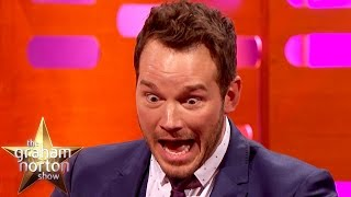 getlinkyoutube.com-The Chris Pratt Epic Card Trick Fail - The Graham Norton Show