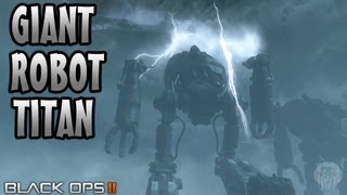getlinkyoutube.com-ORIGINS Zombies: Can You Destroy The Giant Metal Robot Titans? (COD Black Ops 2 Zombies Guide)