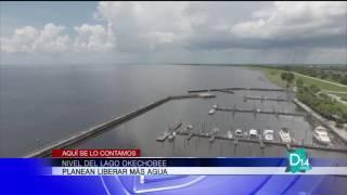 Planean liberar más agua en el lago Okechobee