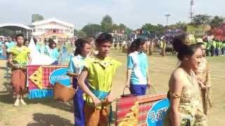 getlinkyoutube.com-ขบวนพาเหรดแข่งขันกีฬาภายในโรงเรียนขามแก่นนคร ประจำปีการศึกษา 2557