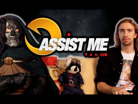 'ASSIST ME!' - Rocket Raccoon and Frank West: Ultimate Marvel vs Capcom 3 Live Action Tutorial