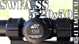 getlinkyoutube.com-SWFA SS 5-20x50mm HD Rifle Scope Review - Super Sniper