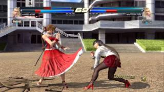 getlinkyoutube.com-Tekken Tag Tournament 2: Online matches with friends 2