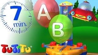 TuTiTu Preschool | ABC Balloon Machine | Learning the Alphabet with TuTiTu's Balloon Machine