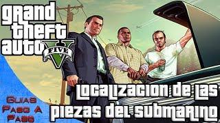 getlinkyoutube.com-Grand Theft Auto V | Piezas del submarino (Misión extraños y locos: Muerte en el mar)
