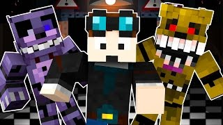 getlinkyoutube.com-TheDiamondMinecart Goes Into Five Nights At Freddy's 4 (Night 4) - Minecraft Roleplay!