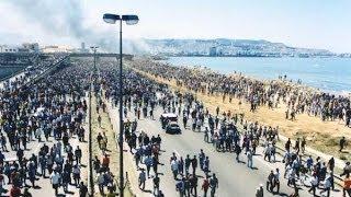 getlinkyoutube.com-La marche du 14 juin 2001,le peuple kabyle marchait sur Alger, Printemps Noir