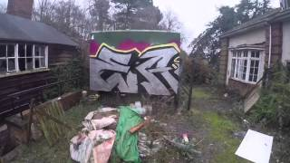 getlinkyoutube.com-Graffiti - Ghost EA - Abandoned Care Home