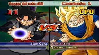 getlinkyoutube.com-Dragon Ball Z Budokai Tenkaichi 3 - Versión Latino *Torneo del más allá - Black Goku