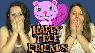 getlinkyoutube.com-HAPPY TREE FRIENDS  | Girls REACT | 9