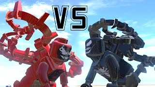 getlinkyoutube.com-VENOM (TRANSFORMATION) VS CARNAGE - (AMAZING BATTLE FIGHT) LEGO MARVEL SUPER HEROES GAME