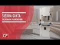 """Sierra cinta 16"""" motor 2 HP 220 V, sierra cinta CALMEHBS400"""