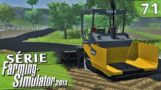 getlinkyoutube.com-Farming Simulator 2013 - Asfaltando a Fazenda