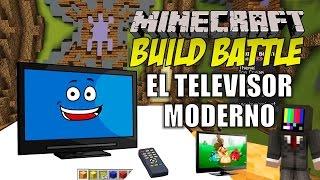getlinkyoutube.com-Minecraft: Build Battle, El Televisor Moderno.