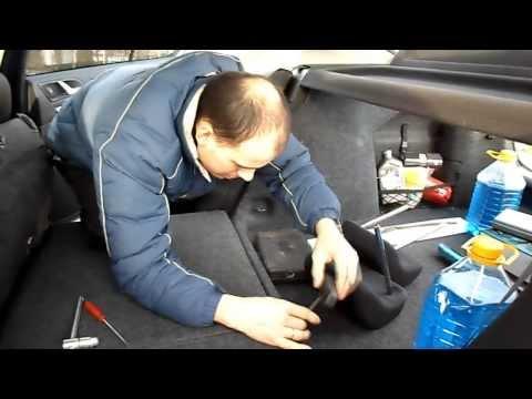 Установка чехлов 'Автопилот' из экокожи на Skoda Octavia A5 2012г часть 2 (Ermmak)