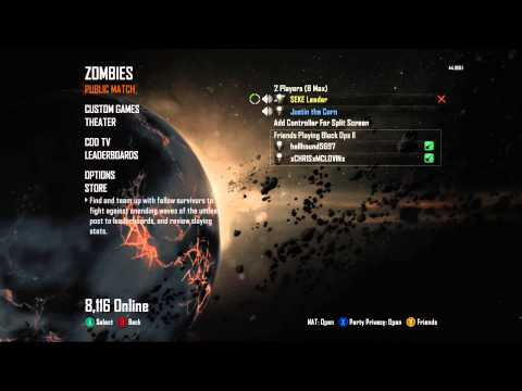 A day on Zombies with Justin and SEKE - Part 1