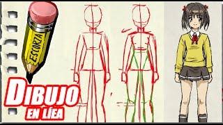 getlinkyoutube.com-dibuja una chica manga explicado (frente)