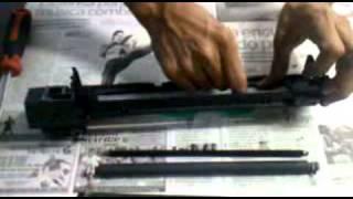 getlinkyoutube.com-limpieza de cuchilla  o cilindro ricoh 1515 parte 1