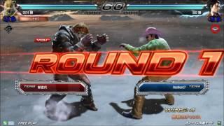 getlinkyoutube.com-10/2 鉄拳7 破壊王 vs ノビ【風神戦】 エンパラ