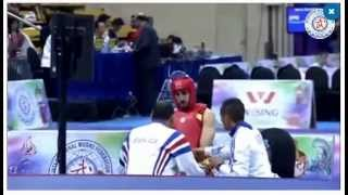 getlinkyoutube.com-13th World Wushu Championships. FRA VS EGY 75KG 16