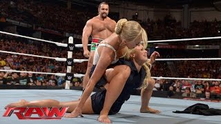 getlinkyoutube.com-Mark Henry vs. Rusev: Raw, Aug. 10, 2015