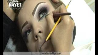 "getlinkyoutube.com-le palais de la beauté ""hayet"" démonstrations maquillage 2 ""2015"""
